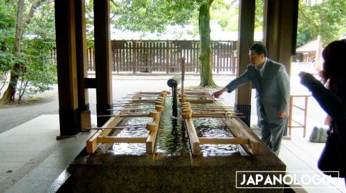 Temizuya, Meiji Jingu Shrine - Tokyo