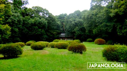 Tea House, Meiji Jingu Shrine - Tokyo