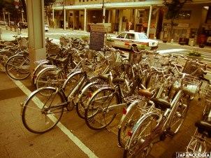 Bikes at Kaji Machi, Hamamatsu