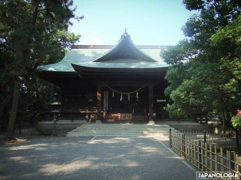 Haiden (拝殿)
