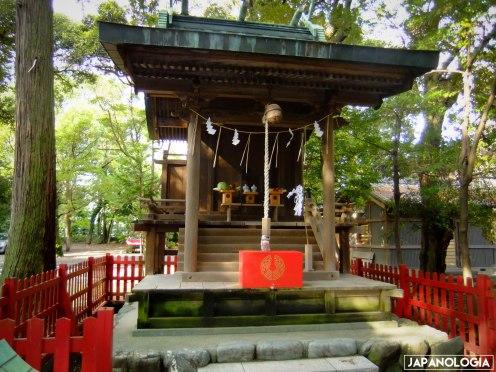 Sessha (摂社) for Inari