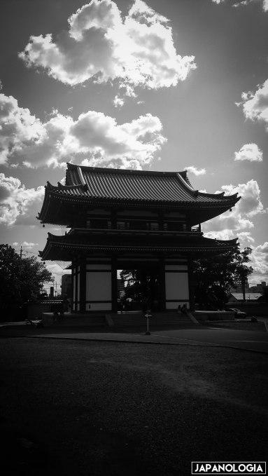 Entrada do templo