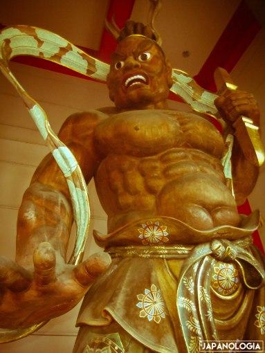 Niō (仁王) ou Kongōrikishi (金剛力士)